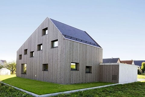 Außergewöhnliche und moderne Architektur im Stilmix.