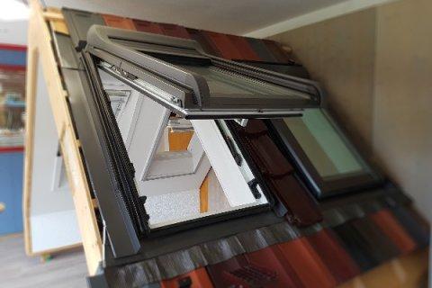 ROTO und VELUX Dachfenster direkt zum anfassen und testen.