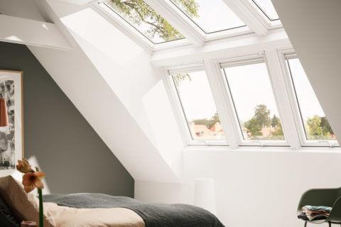 Großzügige Fensterfläche für mehr Raumgefühl und Kopffreiheit