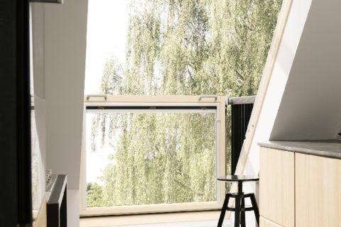 Innen mit einem Fenster