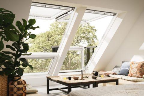 Innen mit zwei Fenster